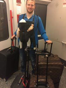viajar con un bebé en avión