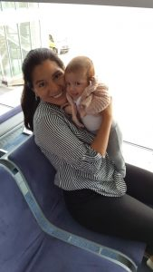 Primer vuelo en avión con un bebe de dos meses
