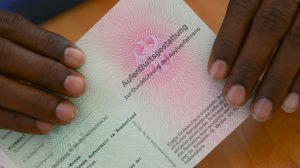 aplicacion para solicitud de asilo en Alemania