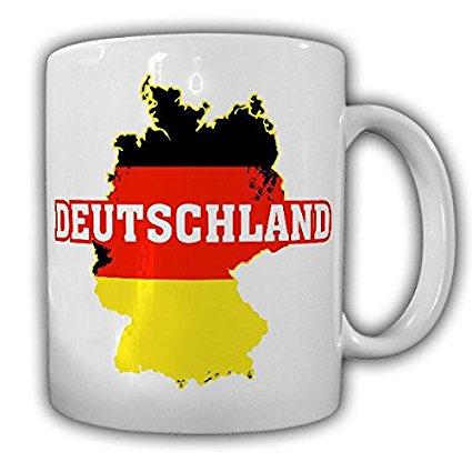 Taza mapa Alemania