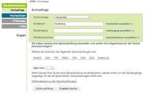 nivel de alemán para estudiar en la universidad